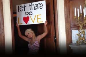 """Christina Aguilera Unleashes """"Let There Be Love"""", As Special Thanks To Fans & To Show Support Of Equality  1"""