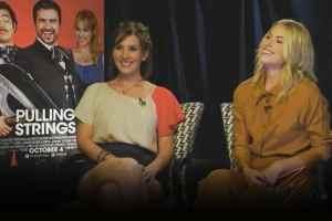 Laura Ramsey & Aurora Papile - Pulling Strings Interview - ZayZay.Com 1