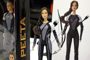 Lead Barbie Designer for Mattel Gives Us Katniss( &Peeta, Effie, & Finnick) To Take Home With Us