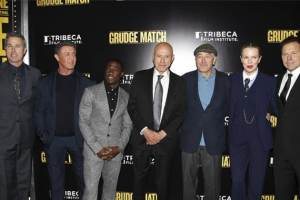 Look Who Joined In at The World Premiere of GRUDGE MATCH and benefit for the Tribeca Film Institute®