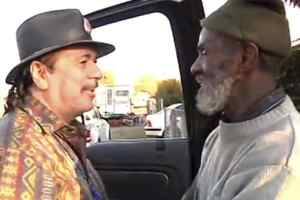 Carlos Santana Reunites With Old Bandmate After Fining Out He Had Been Homeless For 40 Years