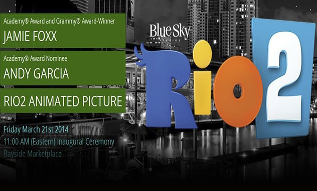 RIO 2 AND THE WALK OF FAME IS COMING TO MIAMI  2