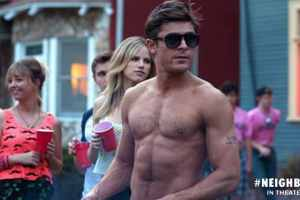 Zac Efron won MTV's Best Shirtless Performance.. don't miss more of Zac in Neighbors! 20