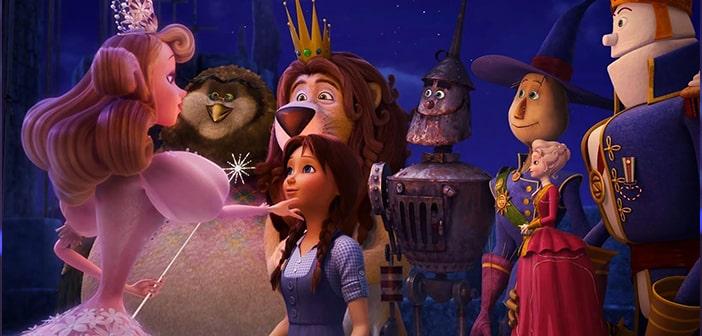 Lea Michele sings in LEGENDS OF OZ: DOROTHY'S RETURN