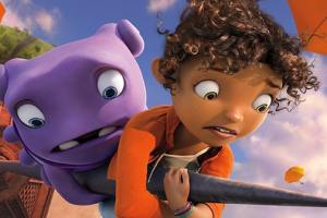 JLO & RIHANNA as mother and daughter in DreamWorks' new animated film HOME