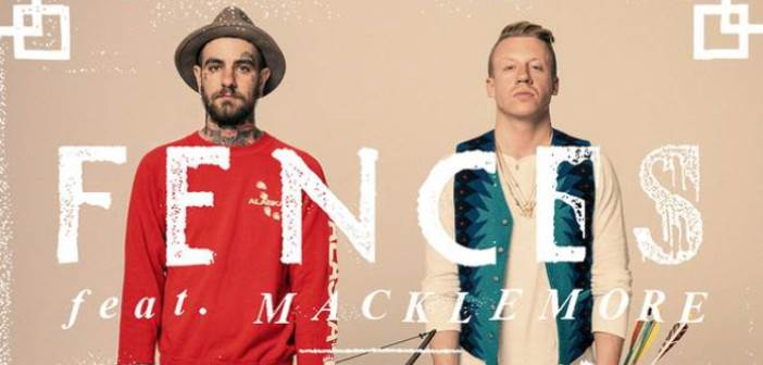 "Macklemore Builds New Song with Fences  Called ""Arrows"""