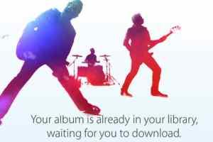 U2 Announces Full Free Album during iPhone6 Release