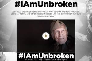 Universal Pictures Launches #IAMUNBROKEN Campaign 1