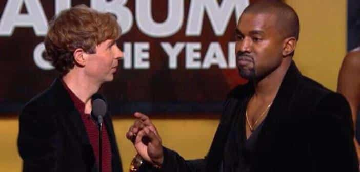 Kanye West Publically Tweets Apology To Beck For Grammys Incident 2