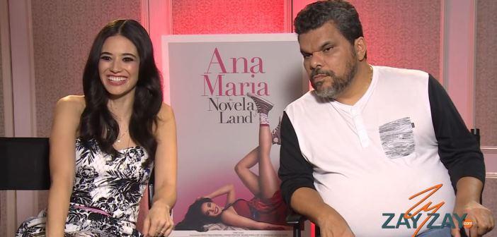 Edy Ganem & Luis Guzman - Ana Maria In Novela Land Interview - ZayZay.Com