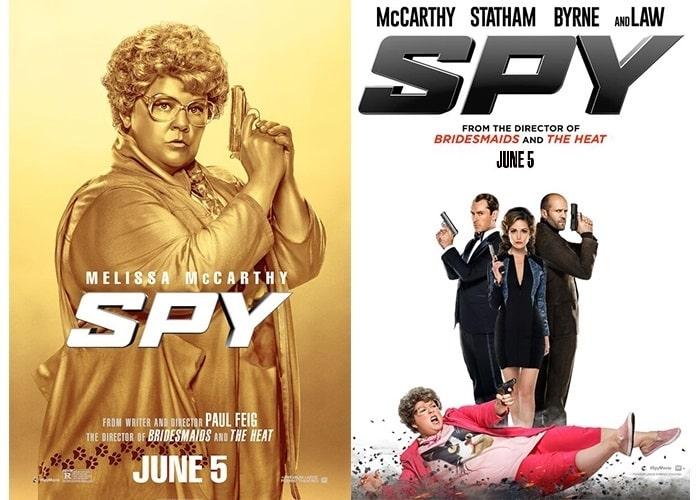 Spy dual poster 1