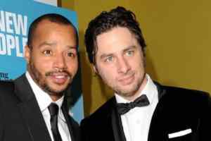 Zach Braff and Donald Faison Promise Pizza for Indiana Gay Weddings