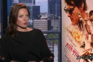 Rebecca Ferguson Interview - Mission: Impossible – Rogue Nation - ZayZay.Com