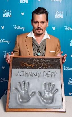 Johnny Depp Named Made Disney Legend