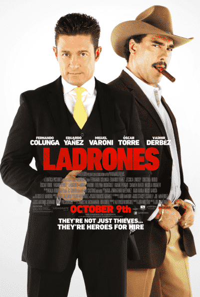 Ladrones - one sheet poster