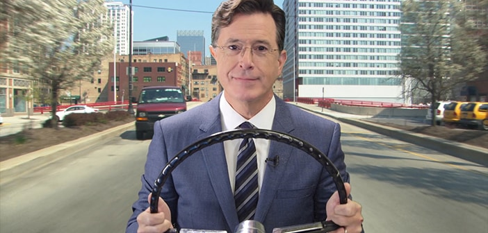 Stephen Colbert Has Lent His Voice To Waze To Help You Get Where You Need To Go