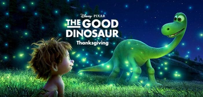 "THE GOOD DINOSAUR - Pixar ""20 Years of Friendship"" & Cave Paintings 8"
