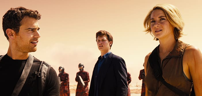 THE DIVERGENT SERIES:  ALLEGIANT   Official Trailer + New Poster 2