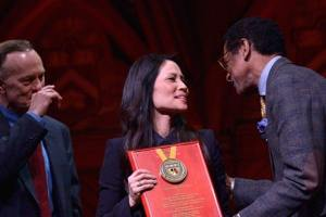 Ambassador & Actress Lucy Liu Received Honors From Harvard For Humanitarian Efforts