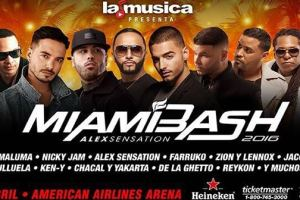 Alex Sensation MiamiBash 2016 - THE showcase of world-renowned Urban and Latin music artists will be happening this weekend 1