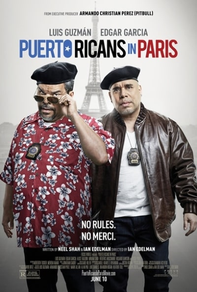 PUERTO RICANS IN PARIS - poster