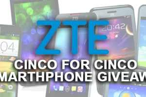 CLOSED--ZTE Cinco de Mayo Phone Giveaway: Five on the Fifth 1