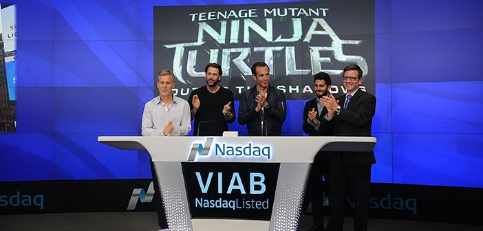 TMNT 2: OUT OF THE SHADOWS - RINGING OF NASDAQ STOCK MARKET CLOSING BELL 20