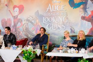 """Disney's """"ALICE THROUGH THE LOOKING GLASS"""" - London Press Conference 14"""