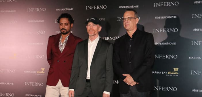 INFERNO starring Tom Hanks - Singapore Red Carpet! 1