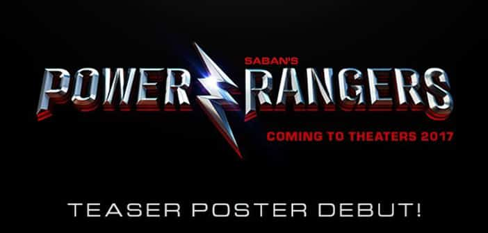 POWER RANGERS  - Teaser Poster Debut 2