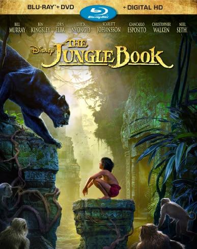 The Jungle Book bluray cover