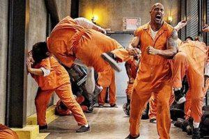 Dwayne Johnson Teases Prison Break Clips For Fast 8