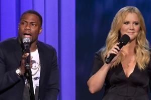 Forbes Lists Kevin Hart And Amy Schumer As The Highest Paid Comedian For Their Genders