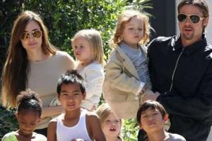 Custody Agrrement Will See The Pitt-Jolie Children Will Remain In Angelina's Care