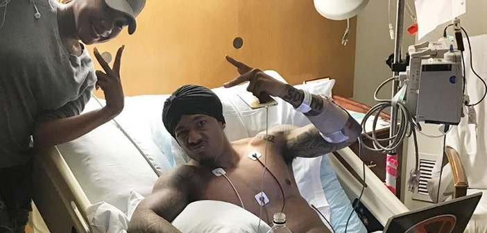Nick Cannon Will be spending the Christmas Holiday In The Hispital