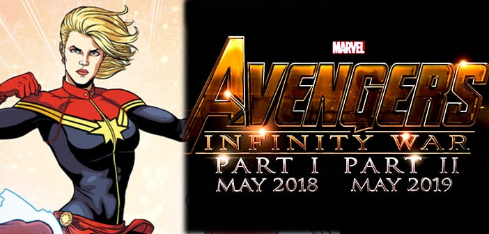 Captain Marvel Getting Official Debut Appearrance In Avengers: Infinity War