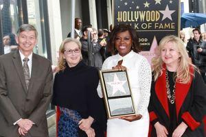 Viola Davis Entetered Into The Hollywood Walk Of Fame Star 12