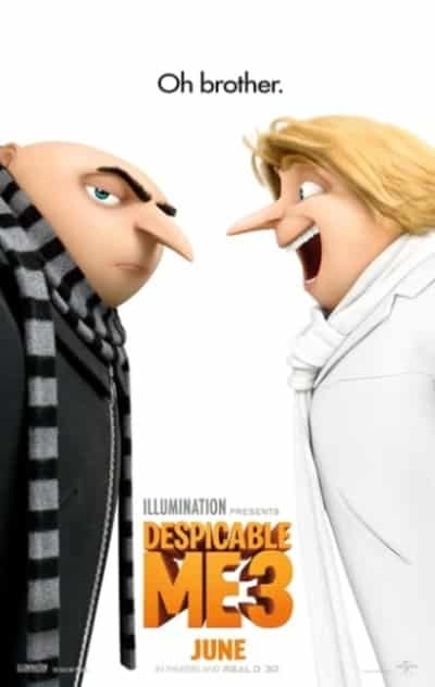 DESPICABLE ME 3 - New Poster & Trailer 2