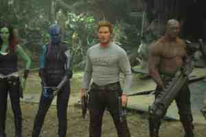 GUARDIANS OF THE GALAXY VOL. 2, has an all star cast that sees the return of Chris Pratt, Zoe Saldana, Dave Bautista, Vin Diesel, Bradley Cooper