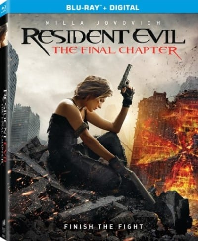 RESIDENT EVIL THE FINAL CHAPTER_DVD - Blu Ray pack