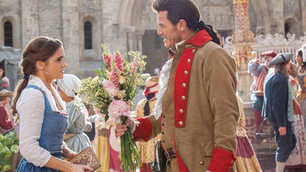 Belle and Gaston from Beauty and the Beast