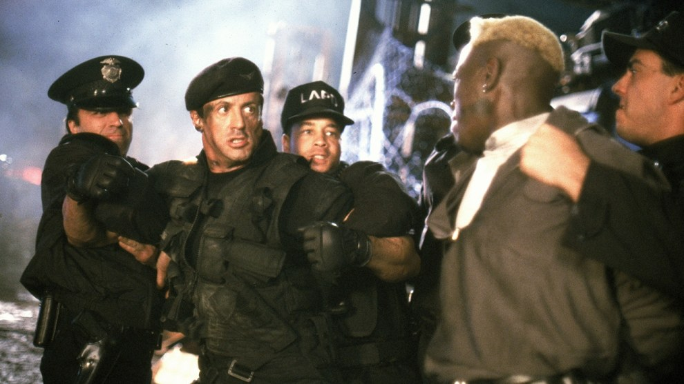 Sylvester Stallone is suing Warner Bros for 1993 Demolition Man movie