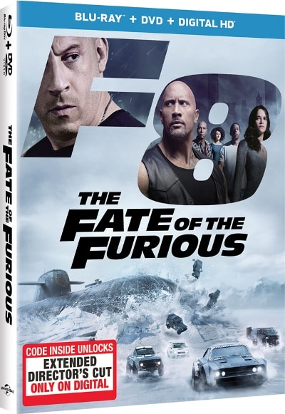Fate of the furious -dvd and bluray