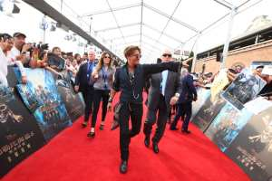 Pirates 5 - premiere johnny depp