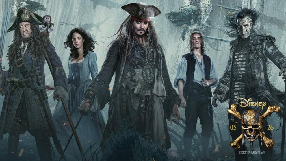 Pirates of the Caribbean Dead Men Tell No Tales - Official Poster