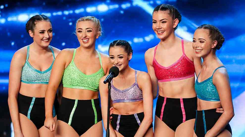 Britain's Got Talent-Julia Carlile and MerseyGirls