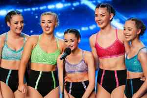 Britain's Got Talent-Julia Carlile and MerseyGirls