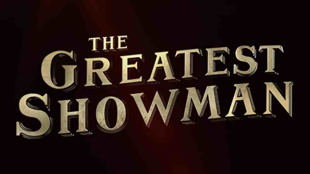 Greatest Showman - title