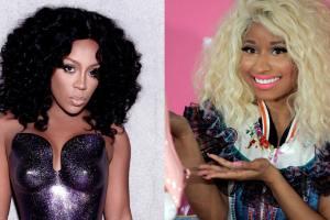 Nicki Minaj K. and Michelle feud