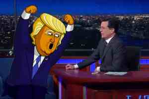 Stephen Colbert animated series Donald Trump